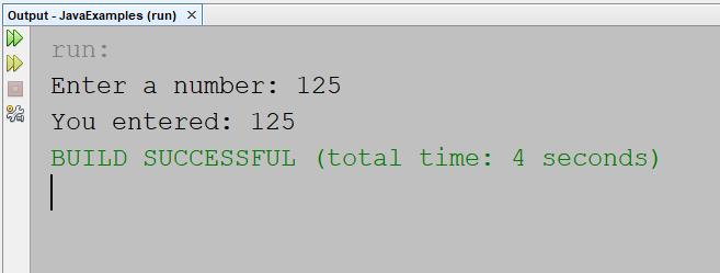 Read an Integer Value in Java – Programming Code Examples