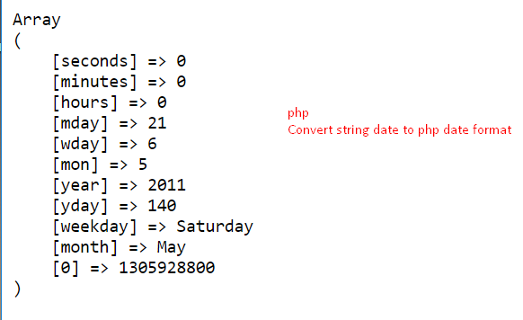 Convert String Date to Date Format in PHP – Programming Code