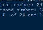 Program to find gcd of two numbers using for loop in Python