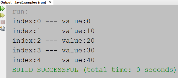 java array example