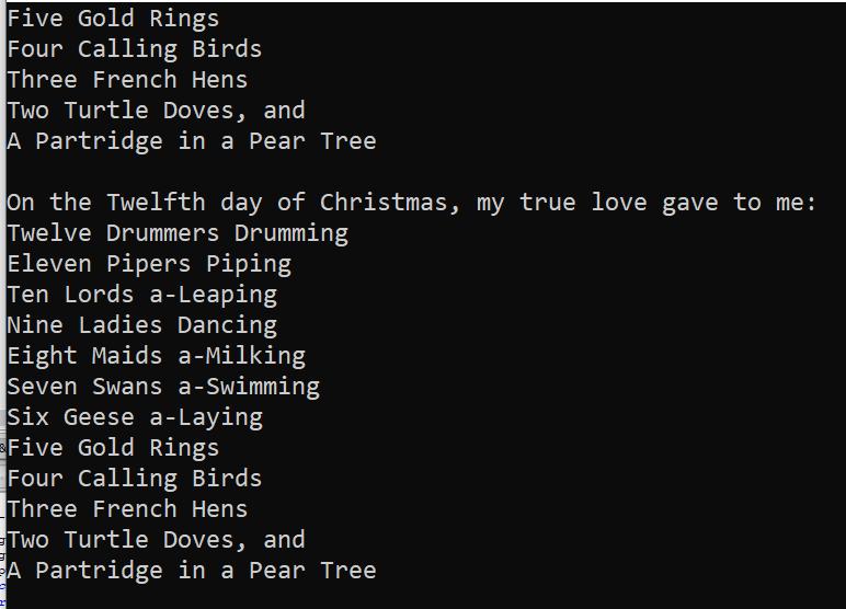 C++ Examples