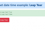 How to check whether the given year is a leap year C#