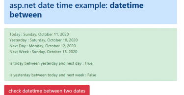 How to check if a DateTime is between two given dates in C#
