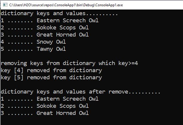 How to remove items from Dictionary in foreach loop in C#